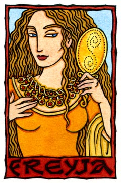 Freyja, Norse Goddess of Love, Beauty, and the Earth
